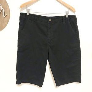 Men's carhartt black shorts